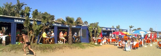 andy beach restaurant strip