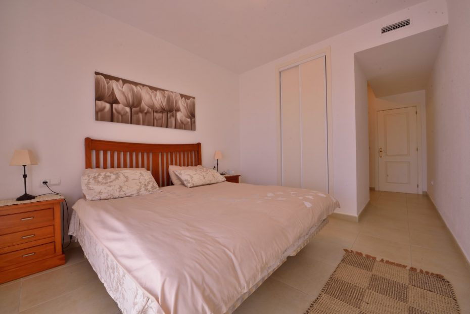 cabopino holiday apartment master bedroom