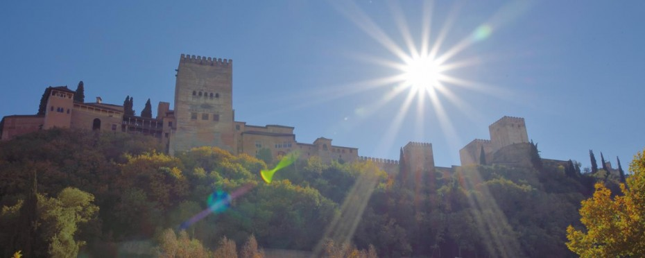 The Alhambra Palace at Granada