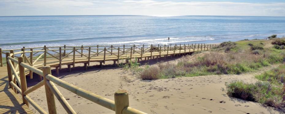 las dunas board walks