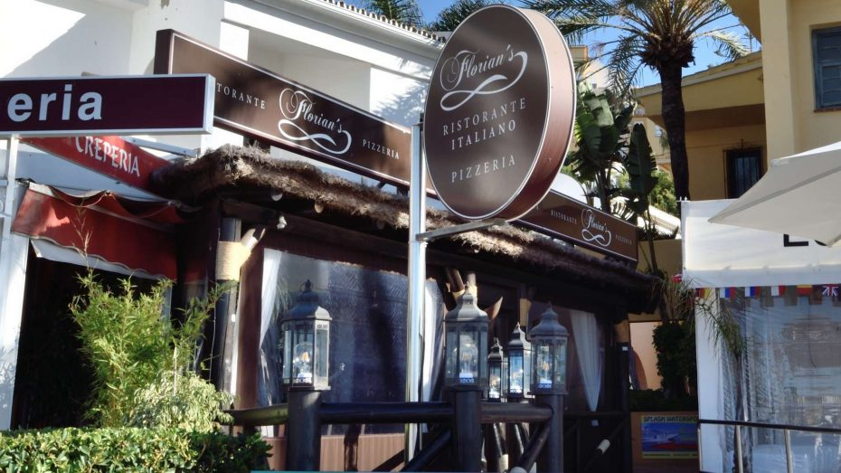 florians restaurant cabopino