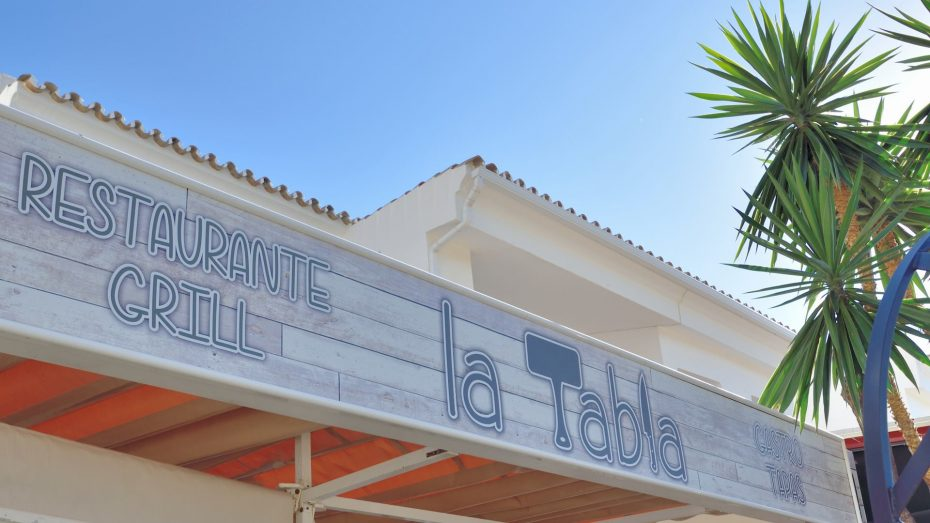 la tabla restaurant cabopino